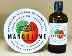 Mango Lime Menthol LIMITED EDITION shaving soap and aftershave set